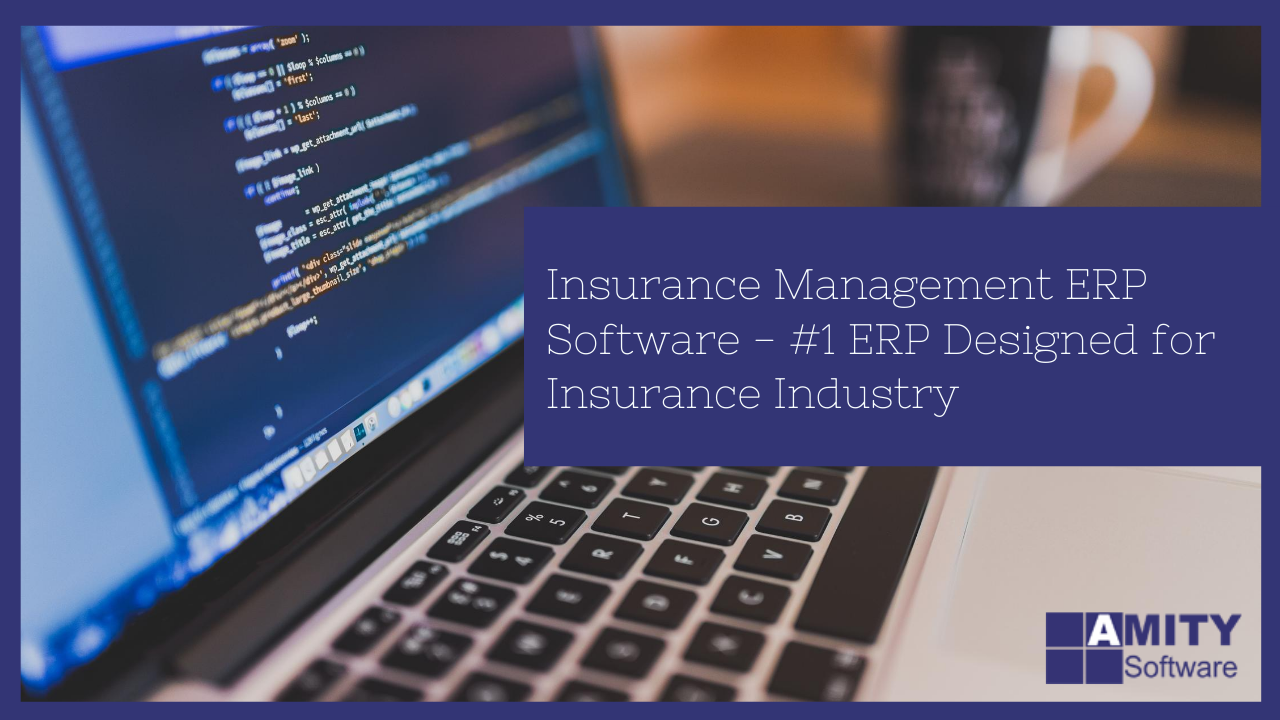 Insurance Management ERP Software