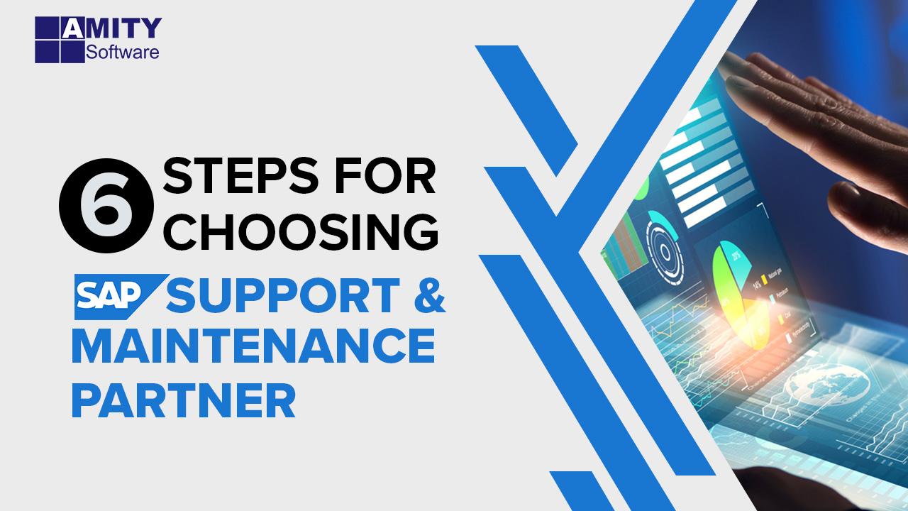 Choosing SAP Support & Maintenance partner