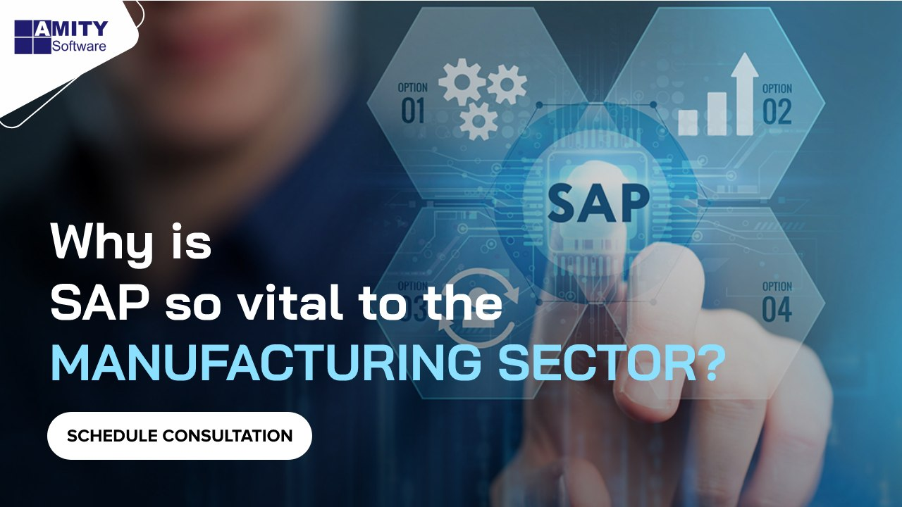 SAP so vital to the Manufacturing Sector?